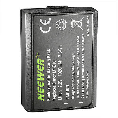 Battery Pack For Canon LP-E10  EOS Rebel T3 Digital Camera