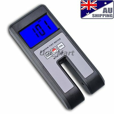 AU WTM-1000 Window Tint Measure Visible Light Transmission Meter Glass Film