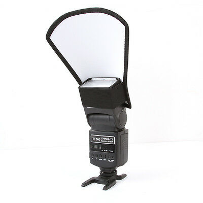 Flash diffuser softbox silver/white reflector for Canon Nikon Pentax Yongnuo SLR