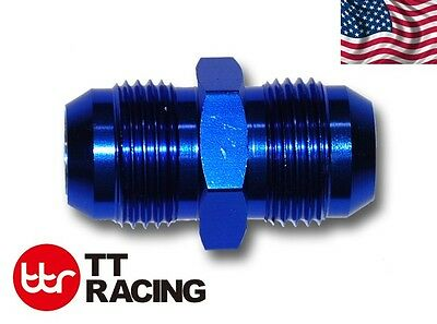 AN10 10AN to AN10 ALUMINIUM STRAIGHT MALE FLARE UNION OIL FUEL FITTING ADAPTER