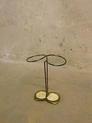 Schirmständer Umbrella Stand 50er 50`s Metall Messing mid century modernist #2