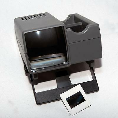 Ap Professional Stack Loading 35Mm Slide Viewer 5X5 Mounted Slides 230V Operated
