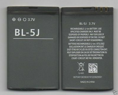 LOT OF 3 NEW BATTERY FOR NOKIA BL-5J 5800 XpressMusic 5230 NURON X6-00 N900