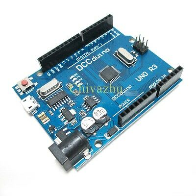 Latest Version UNO R3 ATMEGA328P-16AU CH340G Micro USB  Compatible to Arduino