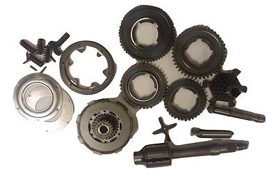 ukscooters VESPA PX200 COMPLETE GEARBOX CLUTCH SHAFT CRUCIFORM MANY MORE 13 PC
