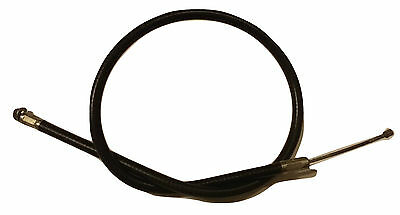 ukscooters LAMBRETTA CHOKE CABLE INNER AND OUTER BLACK NEW
