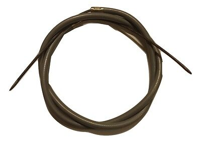 ukscooters LAMBRETTA FOOT BRAKE CABLE REAR BRAKE CABLE INNER OUTER GREY NEW
