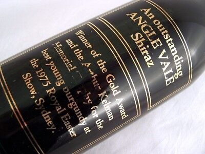 1974 ANGLE VALE Shiraz A Isle of Wine
