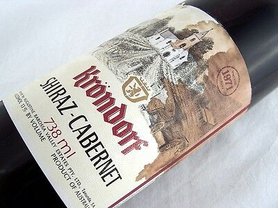 1971 KRONDORF Shiraz Cabernet Isle of Wine
