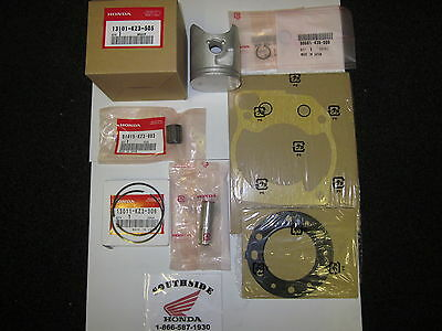 Genuine Oem Honda Top End Kit With Gaskets Cr250R 2000-2001