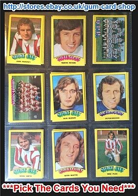 A&Bc 1974 Footballers Red Back (Very Good+ 91-132) *Pick The Cards You Need***
