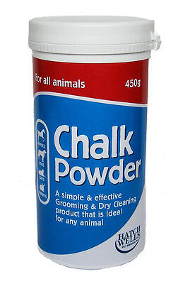 HATCHWELL'S CHALK POWDER 450gr  for cattle, dogs, cats, horses and rabbits etc.