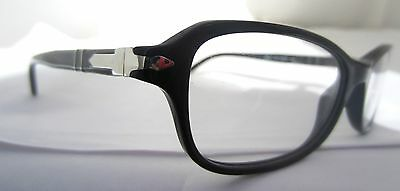 ab3bc0ed6f Persol Glasses Eyeglasses 3006 V 95 Black Authentic Free Shipping 53-16-140