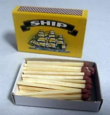 10 Boxes of SHIP Safety Matches- BRAND NEW GENUINE SHIP