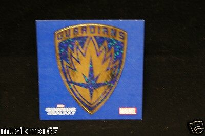 SDCC Comic Con 2014 Handout Guardians of the Galaxy Emblem Decal Stickers