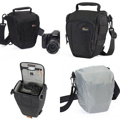 New Lowepro Toploader Zoom 50 AW DSLR Camera Bags With Rain Cover Shoulder Bag