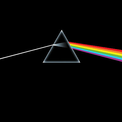 Pink Floyd Dark Side Of The Moon WALL ART CANVAS FRAMED OR POSTER PRINT