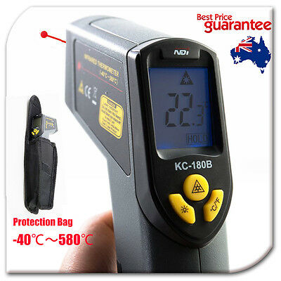 -40~580 Celsius Infrared IR Thermometer Temperature Laser Gun Meter + Bag 180B