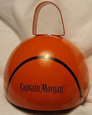 Captain Morgan Spiced Rum - Bell - Tip Bell? - Metal - Basketball Theme - NEW