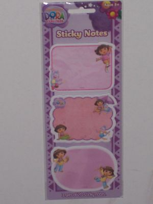 Dora The Explorer : Sticky Notes (Post It Notes)