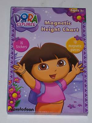 Dora The Explorer Magnetic Height Chart