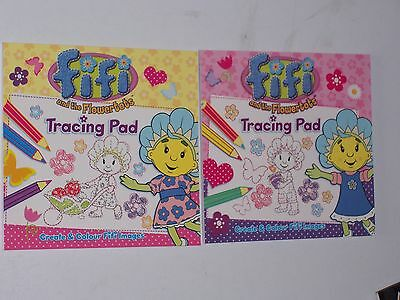 Fifi and the Flowertots Tracing Pad - Set of 2