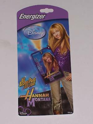 Hannah Montana Energizer Backstage Pass Led Light