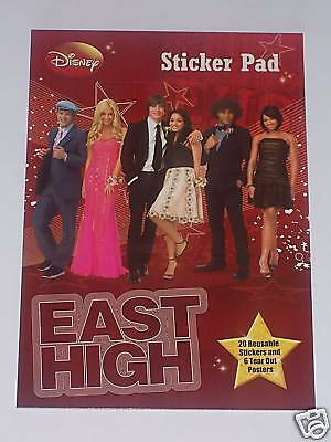 High School Musical 3: Sticker Pad With Reusable Sticke