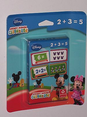 Mickey Mouse Club House - Counting Card Game