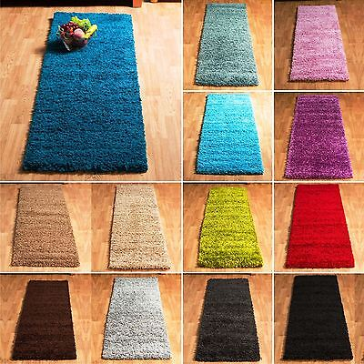 5 CM Pile Soft Thick Plain Modern Shaggy Non-Shed Hallway Small Runners Rug