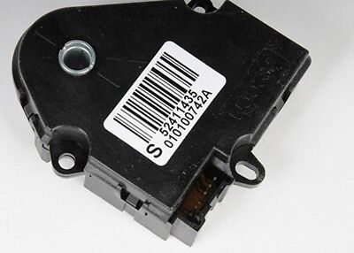 HVAC Heater Blend Door Actuator Left ACDelco GM Original Equipment 15-73598