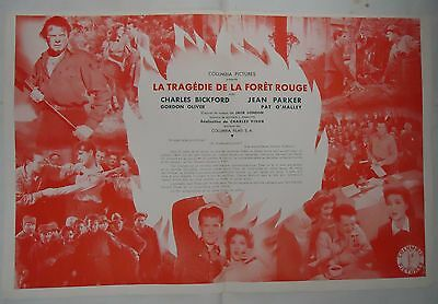 ROMANCE OF THE REDWOODS/CHARLES BICKFORD+JEAN PARKER// french pressbook