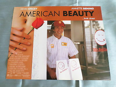 AMERICAN BEAUTY - KEVIN SPACEY  - LOBBY CARD USA -11x14 -#3
