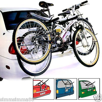 New 2 Bike Bicycle Carrier Car Cycle Rack - Rear Mount for MAZDA2 07-ON