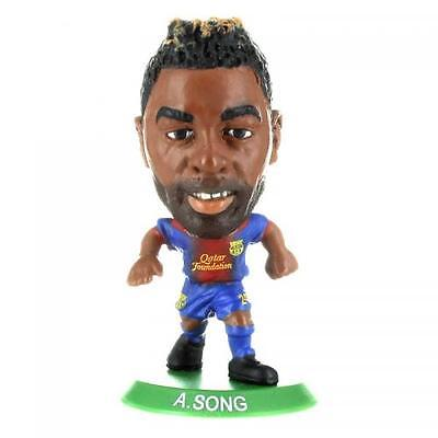 Official Licensed Football Product FC Barcelona SoccerStarz Alex Song Home Kit