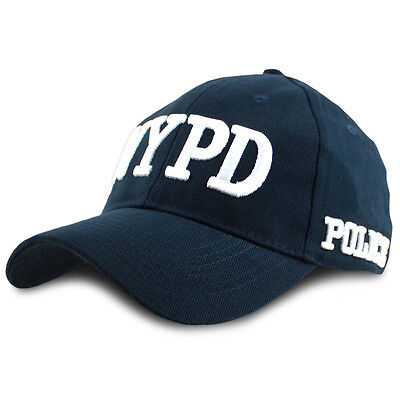 NEW Officially Licensed NYPD Baseball Cap New York Police Department Navy Blue