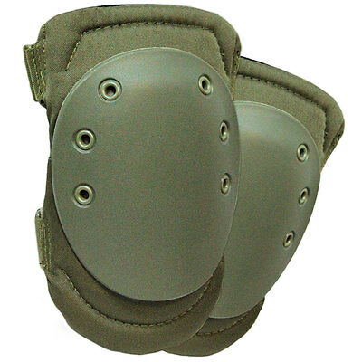 NEW Tactical Military Army Protective Knee Pads Airsoft Paintball Green Set of 2