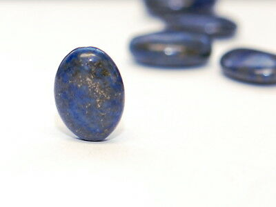 Lapis - ovale Scheibe, 13x18 mm /2280s