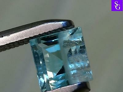 "Australian Natural Unoiled Faceted 0.98 ct Emerald ""Stunning_Gemstones"""