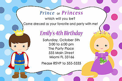 30 Pirate Princess Invitation Cards Kids Birthday Party