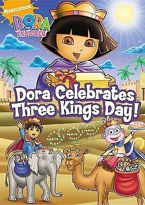 Dora the Explorer - Dora Celebrates Three Kings Day (DVD, 2008) Very Good