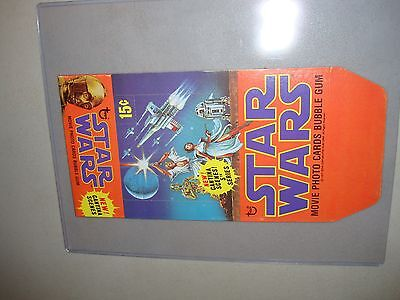 Star Wars Trading Card Box FLAT - Never Used - Near Mint - Vintage Rare Series 5