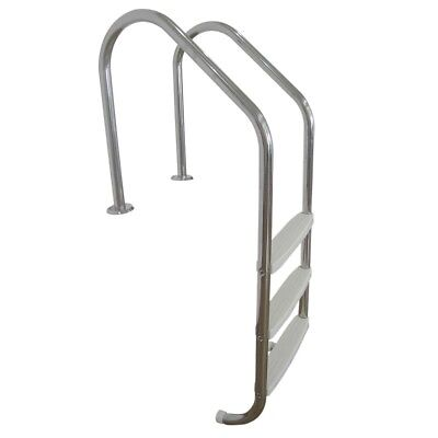 NEW 3-step S/Steel In Ground Swimming Pool Ladder