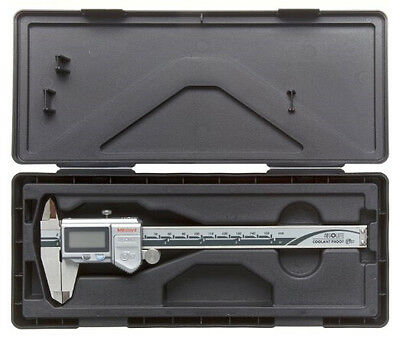 """Coolant Proof Caliper 500-754-10 Thumb Roller without SPC Data Output 0-12""""Range"""