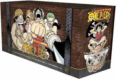 One Piece East Blue and Baroque Works Box Set Volumes 1-23