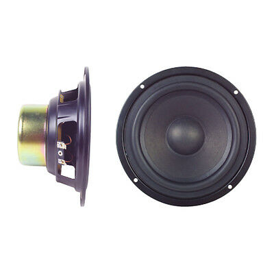 "6.5"" 55W Magnetically Shielded Bass MID Range Sub-Woofer Audio HiFi Speaker"