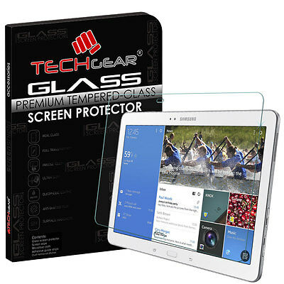TECHGEAR TEMPERED GLASS Screen Protector For Samsung Galaxy Tab Pro 10.1 SM-T520