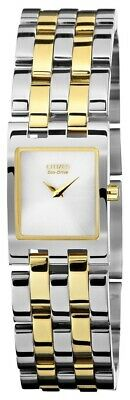Citizen Eco-Drive Jolie Two-Tone Ladies Watch EX1304-51A