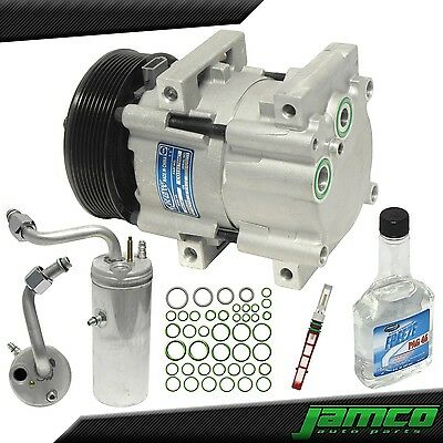 New AC A//C Compressor Fits 2000-2003 Ford Excursion V8 7.3L Turbo Diesel ONLY