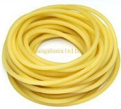 New 6x9mm Natural Latex Rubber Band for Slingshot Catapult Elastic Parts 1-10m